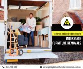 Ensure Successful Interstate Furniture Removals