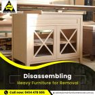 Furniture Removalists in Sydney – Disassembling Heavier Stuffs