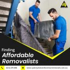 Find Affordable Removalists in Sydney